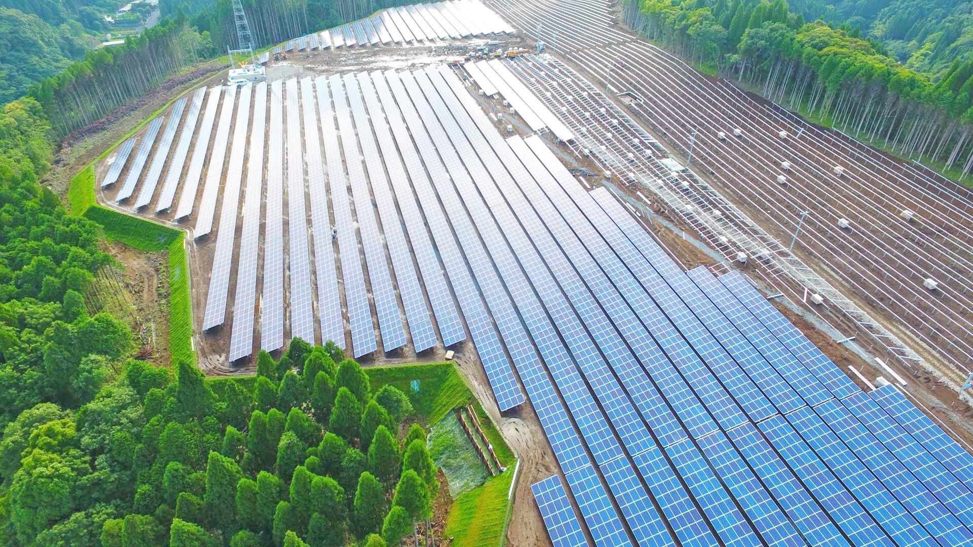 长崎县龙马光伏太阳能项目