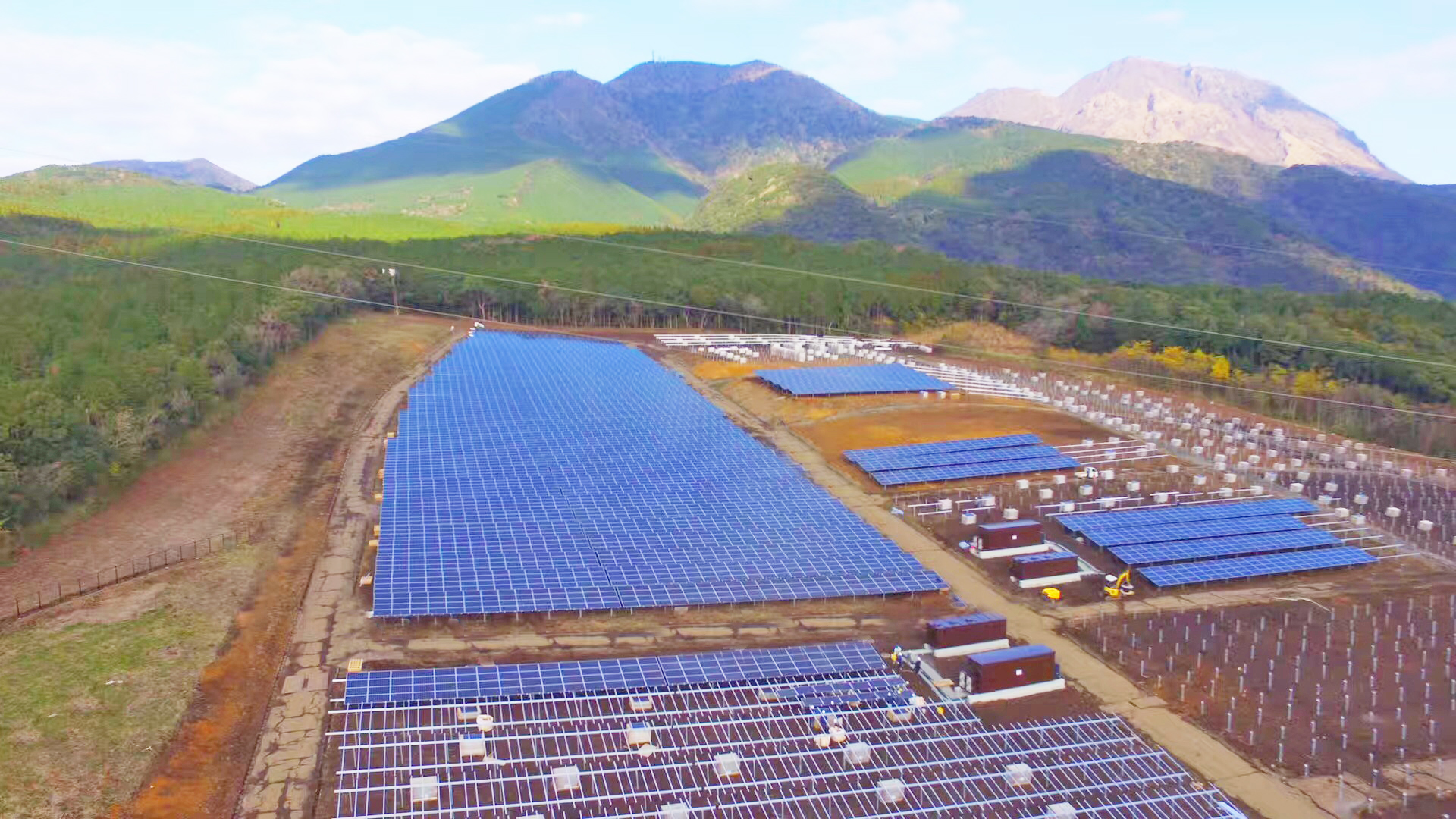 长崎县南岛原光伏太阳能项目